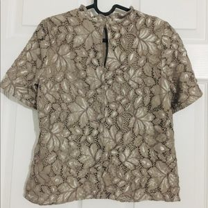 H&M laced blouse
